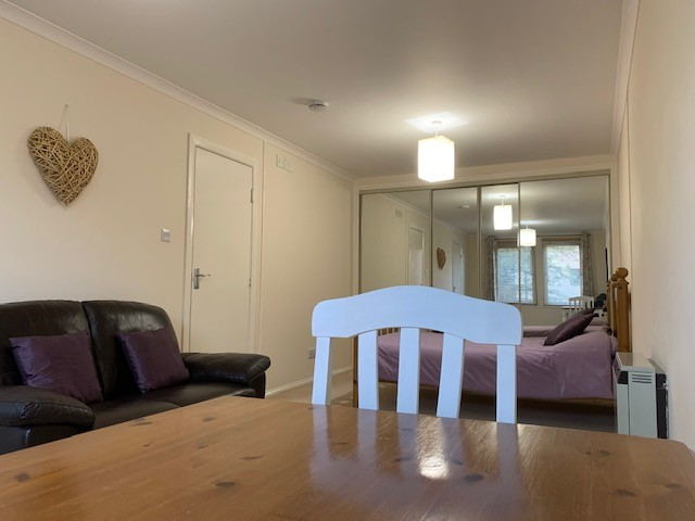 Bedsit Living Area